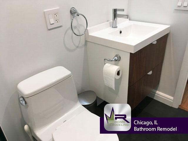 Bathroom Remodel - 2253 N Lakewood Ave, Chicago, IL 60614 by Regency Home Remodeling