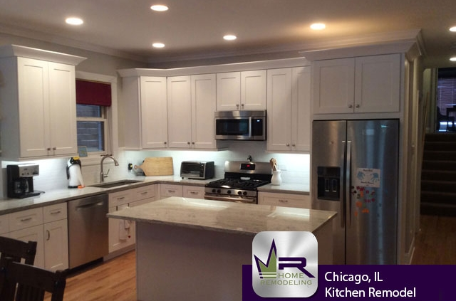 Wrigleyville (Chicago) Kitchen Remodel