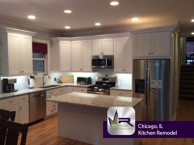 Wrigleyville (Chicago) Kitchen Remodel