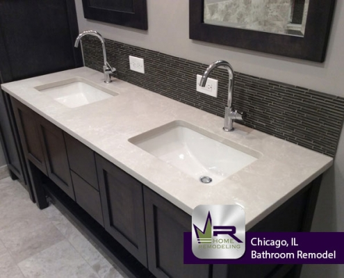 Lake View [Chicago], IL Bathroom Remodel by Regency Home Remodeling