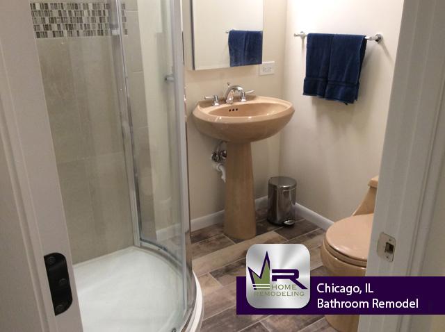 Basement Bathroom Remodel Chicago Regency Home Remodeling