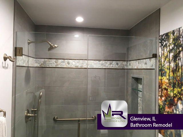 Bathroom Remodel - 2112 Franklin Dr, Glenview, IL 60026 by Regency Home Remodeling