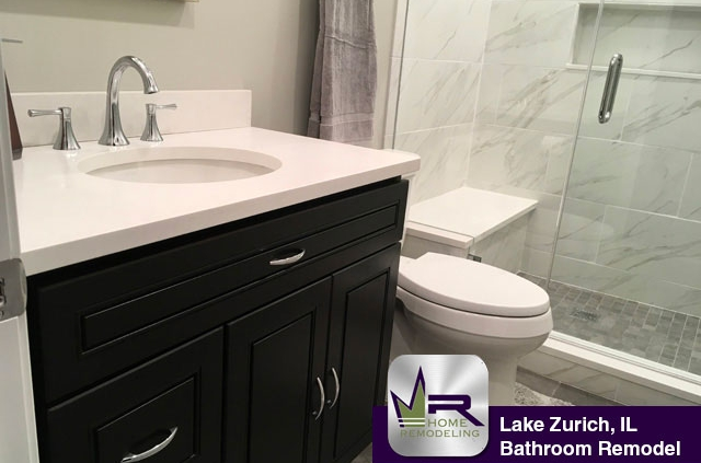 Lake Zurich, IL Bathroom Remodel by Regency Home Remodeling