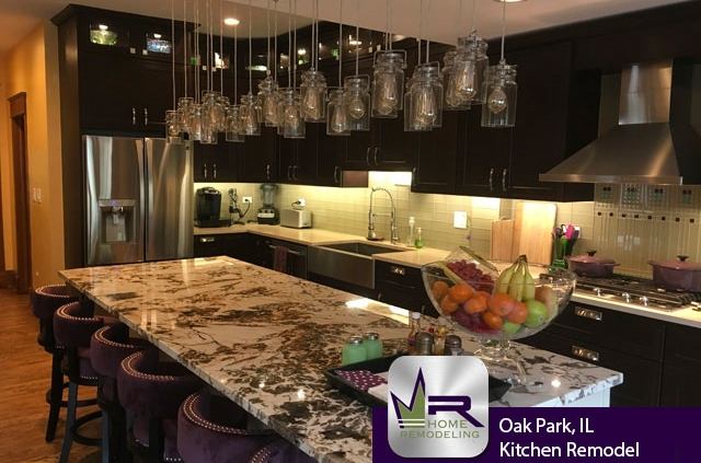 Oak Park, IL Kitchen Remodel by Regency Home Remodeling