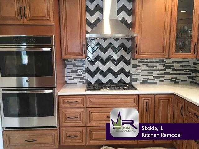 Kitchen Remodel - 9111 Crawford Ave, Skokie, IL 60076 by Regency Home Remodeling