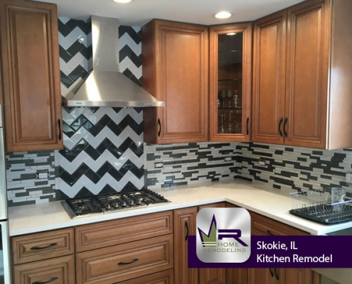 Skokie, IL Kitchen Remodel by Regency Home Remodeling