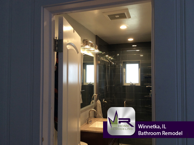 Bathroom Remodel - 1237 Elm St, Winnetka, IL 60093 by Regency Home Remodeling