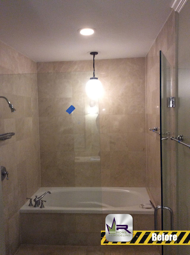 Bathroom Remodel - 1502 W Wilson Ave, Chicago, IL 60640 by Regency Home Remodeling