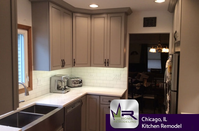 Chicago, IL Kitchen Remodel by Regency Home Remodeling