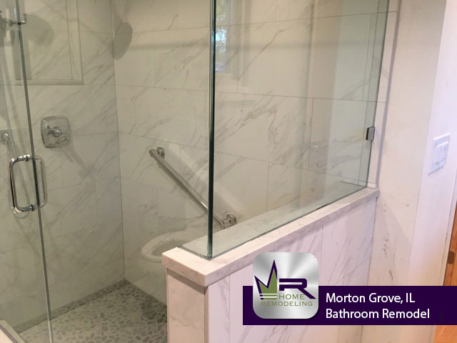 Bathroom Remodel - 7333 Palma Ln, Morton Grove, IL 60053 by Regency Home Remodeling