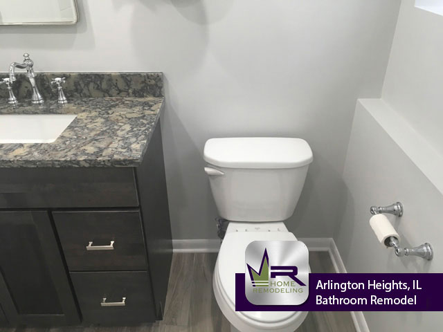 Bathroom Remodel - 522 S Roosevelt Ave, Arlington Heights, IL 60005 by Regency Home Remodeling