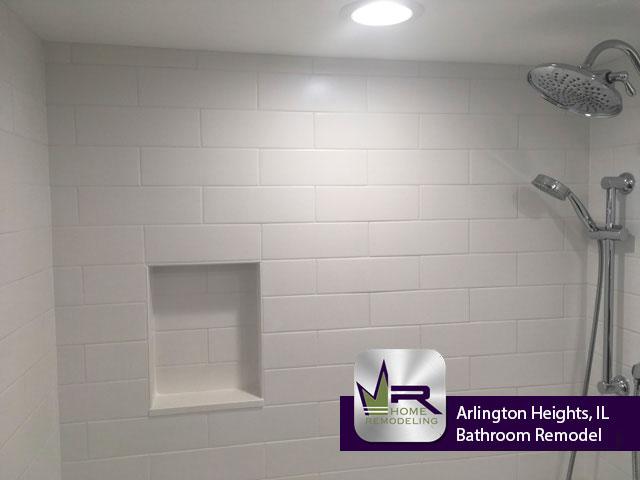 Bathroom Remodel - 522 S Roosevelt Ave, Arlington Heights, IL 60005 by Regency Home Remodeling
