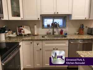 Elmwood Park (Chicago) Kitchen Remodel