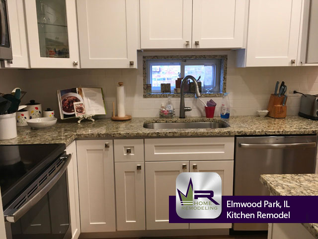 Kitchen Remodel - 1922 N Rutherford Ave, Elmwood Park 60707 by Regency Home Remodeling