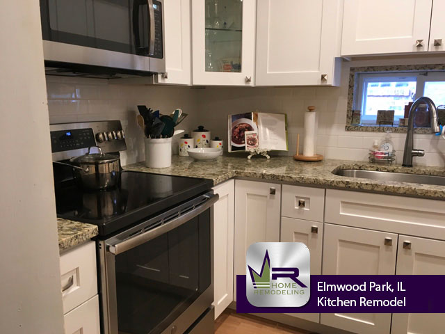 Kitchen Remodel - 1922 N Rutherford Ave, Elmwood Park 60707 by Regency Home Remodeling