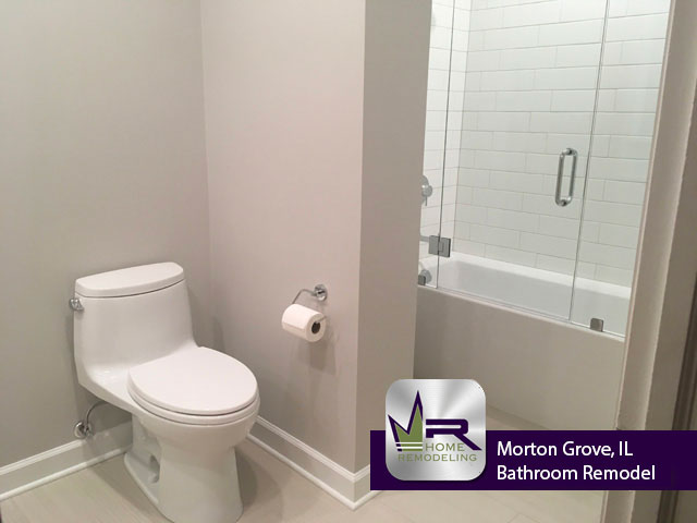 Bathroom Remodel on Fernald Ave in Morton Grove