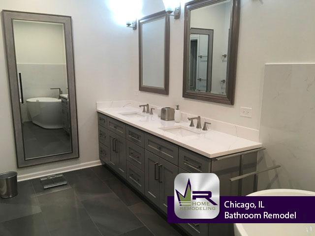 Bathroom Remodel - 114 S Deerpath Dr, Vernon Hills, IL 60061 by Regency Home Remodeling