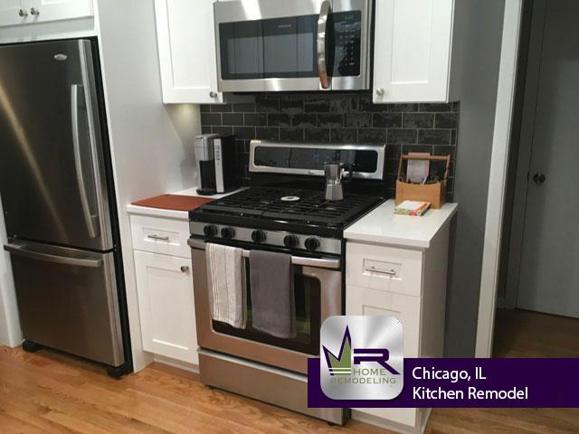 Kitchen Remodel - 7432 N Oleander Ave, Chicago, IL 60631 by Regency Home Remodeling