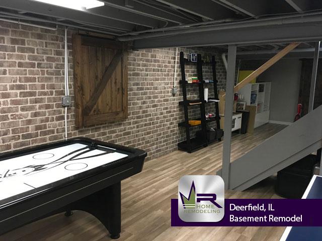 Basement Remodel - 1380 Wincanton Dr, Deerfield, IL 60015 by Regency Home Remodeling