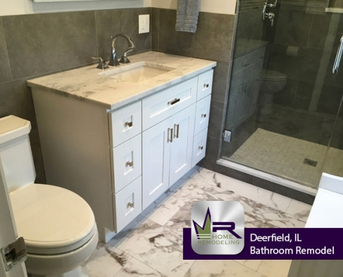 Bathroom Remodel - 1380 Wincanton Dr, Deerfield, IL 60015 by Regency Home Remodeling