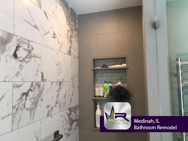 Bathroom Remodel - 6N254 Elizabeth Ct, Medinah, IL 60157 by Regency Home Remodeling