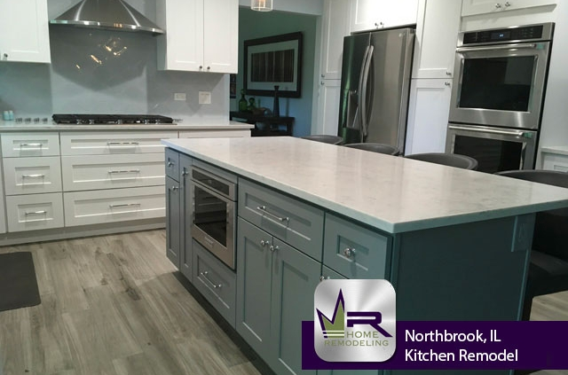 Kitchen Remodel - 1912 Sunnyside Cir, Northbrook, IL 60062 by Regency Home Remodeling