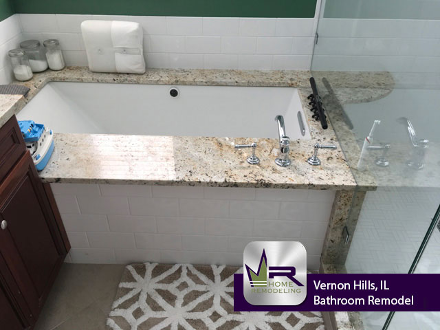 Bathroom Remodel - 1685 Stanwich Rd, Vernon Hills, IL 60061 by Regency Home Remodeling