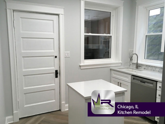 Kitchen Remodel - 1726 W Farragut Ave, Chicago, IL 60640 by Regency Home Remodeling