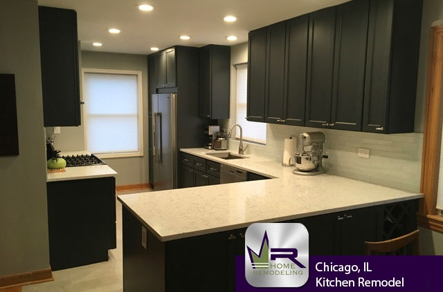 Kitchen Remodel - Sauganash (Chicago) by Regency Home Remodeling