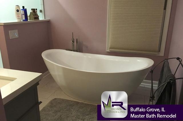 Bathroom Remodel - 219 Vintage Ln, Buffalo Grove, IL 60089 by Regency Home Remodeling