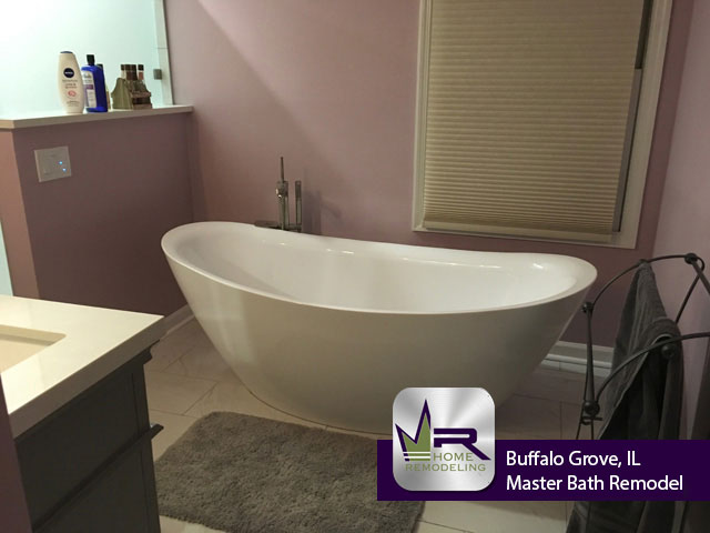 Bathroom Remodel - 219 Vintage Ln, Buffalo Grove, IL 60089 by Regency Home Remodeling