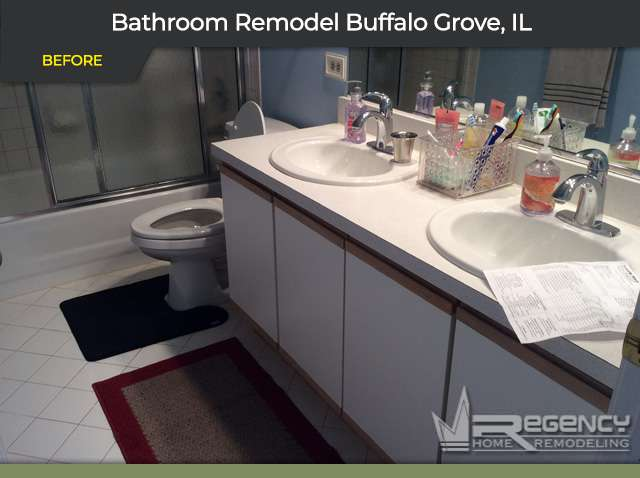 Bathroom Remodel - 807 Summer Ct, Buffalo Grove, IL 60089 by Regency Home Remodeling