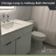 Hallway Bathroom Remodel - 212 W Washington St, Chicago, IL 60606 by Regency Home Remodeling