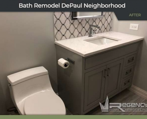 Bathroom Remodel - 2721 N Greenview Ave, Chicago, IL 60614 by Regency Home Remodeling