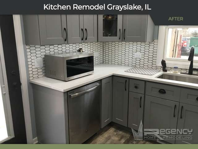 Kitchen Remodel - 33505 N Evergreen Dr, Grayslake, IL 60030 by Regency Home Remodeling