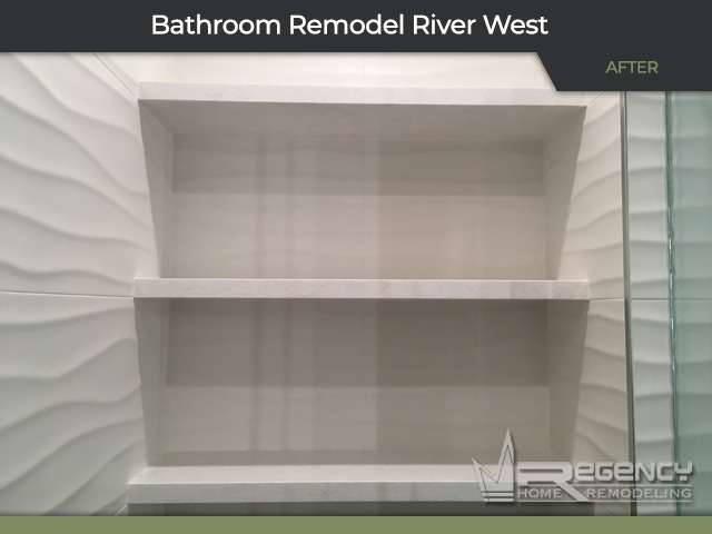 Bathroom Remodel - 501 N Clinton St, Chicago, IL 60654 by Regency Home Remodeling