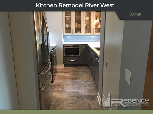 Kitchen Remodel - 501 N Clinton St, Chicago, IL 60654 by Regency Home Remodeling