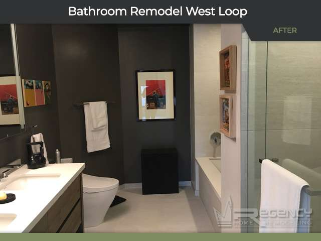 Bathroom Remodel - 565 W Quincy St, Chicago, IL 60661 by Regency Home Remodeling