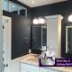 Hallway Bath Remodel - 146 Woodland Ave, Winnetka, IL 60093 by Regency Home Remodeling