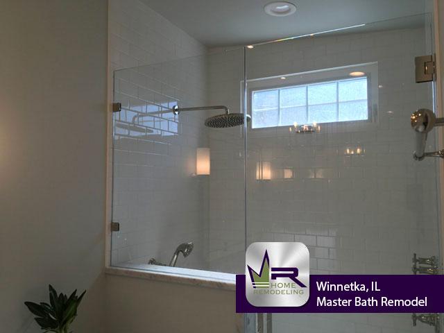 Master Bath Remodel - 146 Woodland Ave, Winnetka, IL 60093 by Regency Home Remodeling