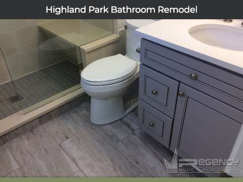 Highland Park Bathroom Remodel