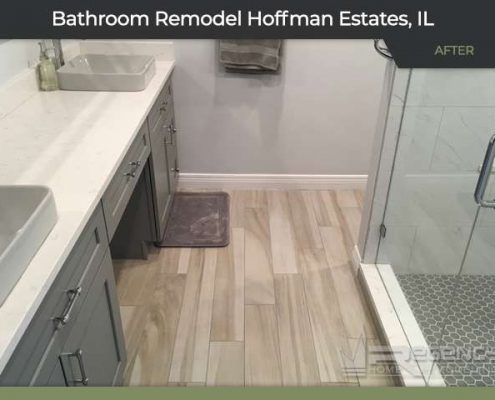 Bathroom Remodel - 1255 W. Sturbridge Drive, Hoffman Estates, IL 60192 by Regency Home Remodeling