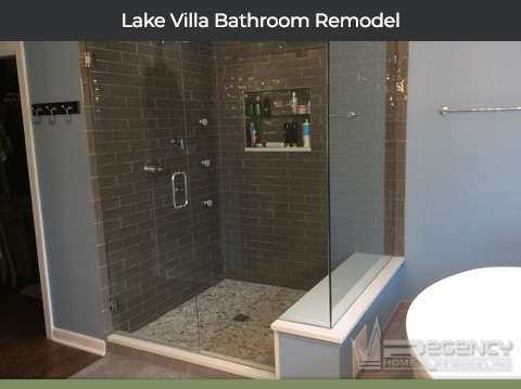 Lake Villa Bathroom Remodel