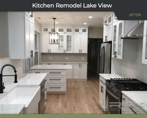 Kitchen Remodel - 1034 W Oakdale Ave, Chicago IL 60657 by Regency Home Remodeling