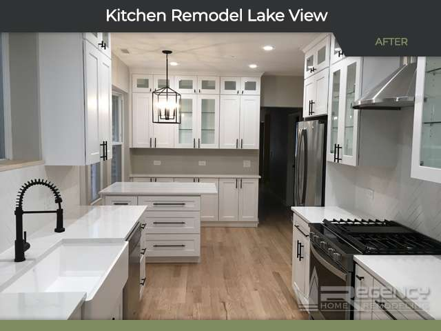 Kitchen Remodel - 1034 W Oakdale Ave, Chicago IL 60657 by Regency Home Remodeling