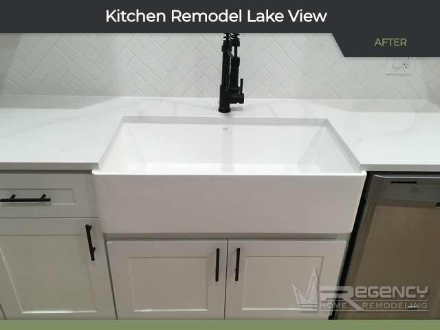 Kitchen Remodel - 1034 W Oakdale Ave, Chicago, IL 60657 by Regency Home Remodeling