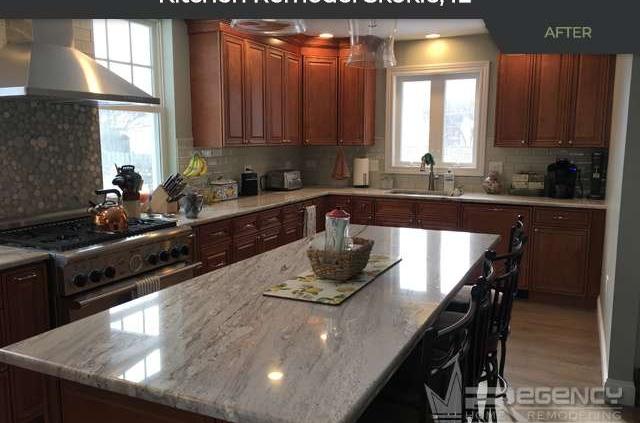 Kitchen Remodel - 8033 Lorel Ave, Skokie, IL 60077 by Regency Home Remodeling