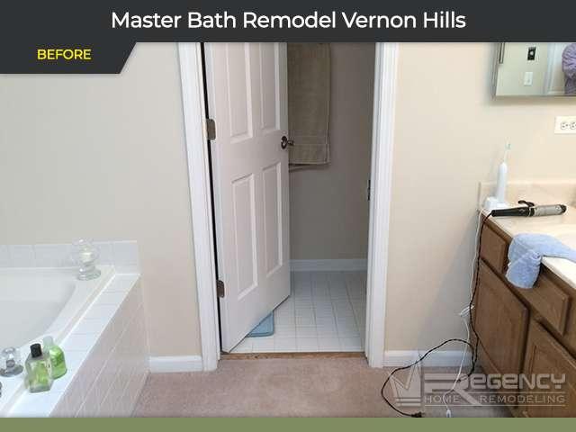Master Bathroom Remodel - 683 Sussex Cir, Vernon Hills, IL 60061 by Regency Home Remodeling