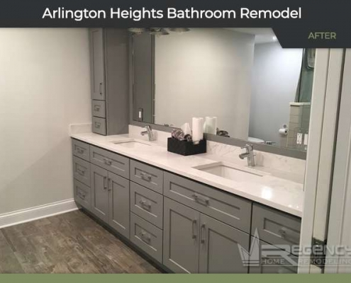Bathroom Remodel - 3128 N Windsor Dr, Arlington Heights, IL 60004 by Regency Home Remodeling