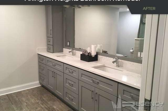 Bathroom Remodel - 3128 N Windsor Dr, Arlington Heights, IL 60004 by Regency Home Remodeling